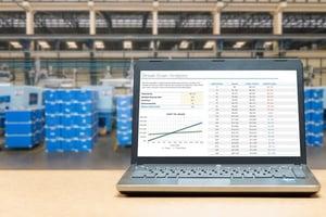 monitor warehouse activities