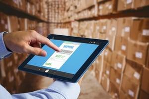 warehouse management ipad